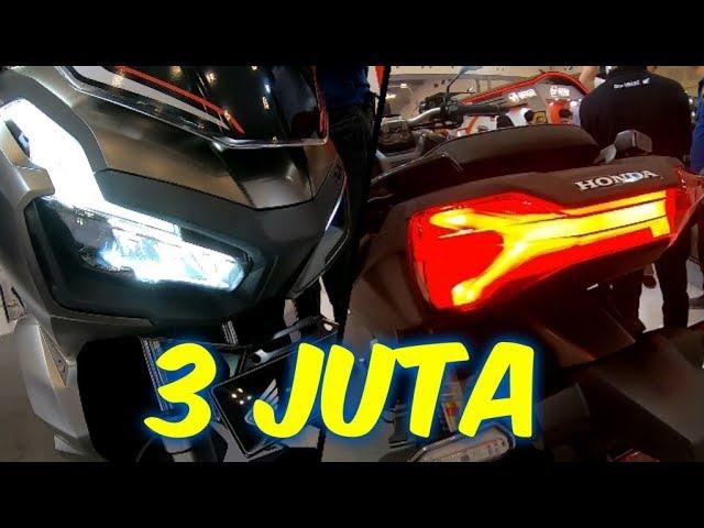 Beda 3 Juta Inilah 8 Perbedaan Antara Honda Adv 150 Abs Dengan Honda Adv 150 Cbs Youtube