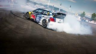 VW Polo R WRC Drifting - فولكس فاجن بولو ار تصنع حلقات دريفت