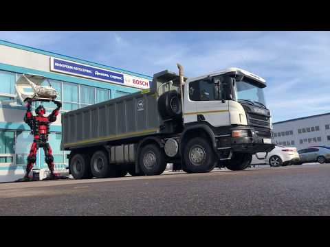 SCANIA P440 8X4 2017 самосвал - В продаже грузовой автомобиль Скания - Razborgruz.ru