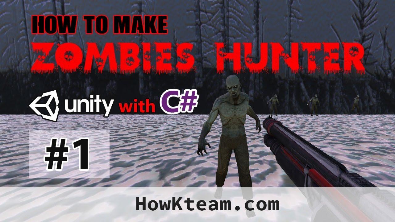 [Khóa học lập trình game Zombie Hunter với Unity3D] – Bài 1: Thiết kế màn chơi | HowKteam
