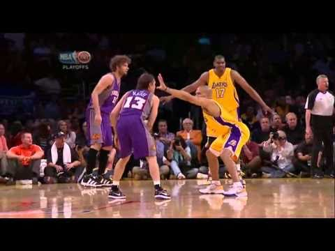 2010 NBA Playoffs Game 5 Conference Finals Phoenix Suns vs Los Angeles Lakers Part 1