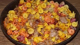 Я влюбилась в это блюдо Вот как можно приготовить ужин из макарон всего за 30 минут