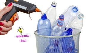 3 ADORABLE WAYS TO REUSE/RECYCLE PLASTIC BOTTLES| Best Reuse Idea
