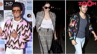 Ranveer, Deepika, Varun & Other Stars Show How To Slay In A Bomber Jacket | #FashionFriday