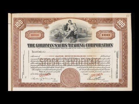 Goldman Sachs At 150: Part 2 – Hubris (1929)