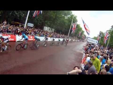 Tour de France 2014 Stage 3 London GoPro HD