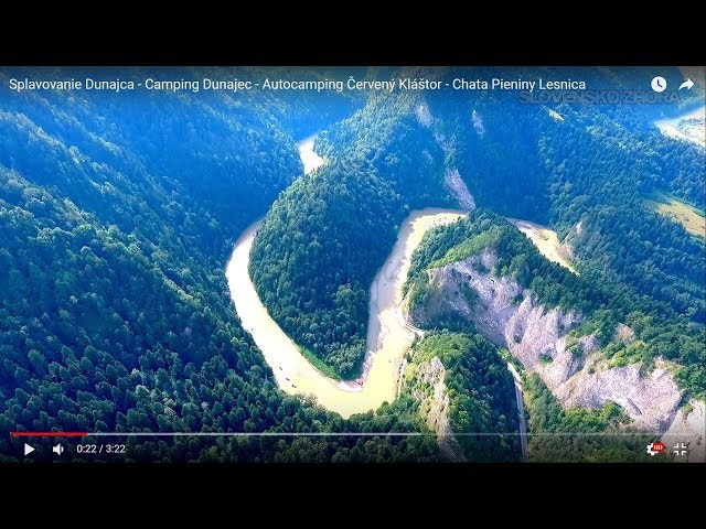 Splavovanie Dunajca - Camping Dunajec - Autocamping ?ervený Kláštor - Chata Pieniny Lesnica