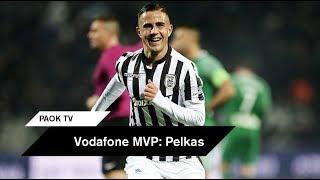 Vodafone MVP: Πέλκας - PAOK TV