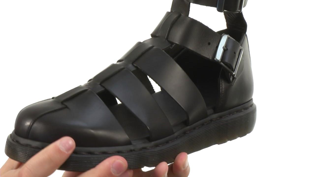 a6a2ecb8dc Dr. Martens Geraldo Ankle Strap Sandal SKU:8258440 - YouTube