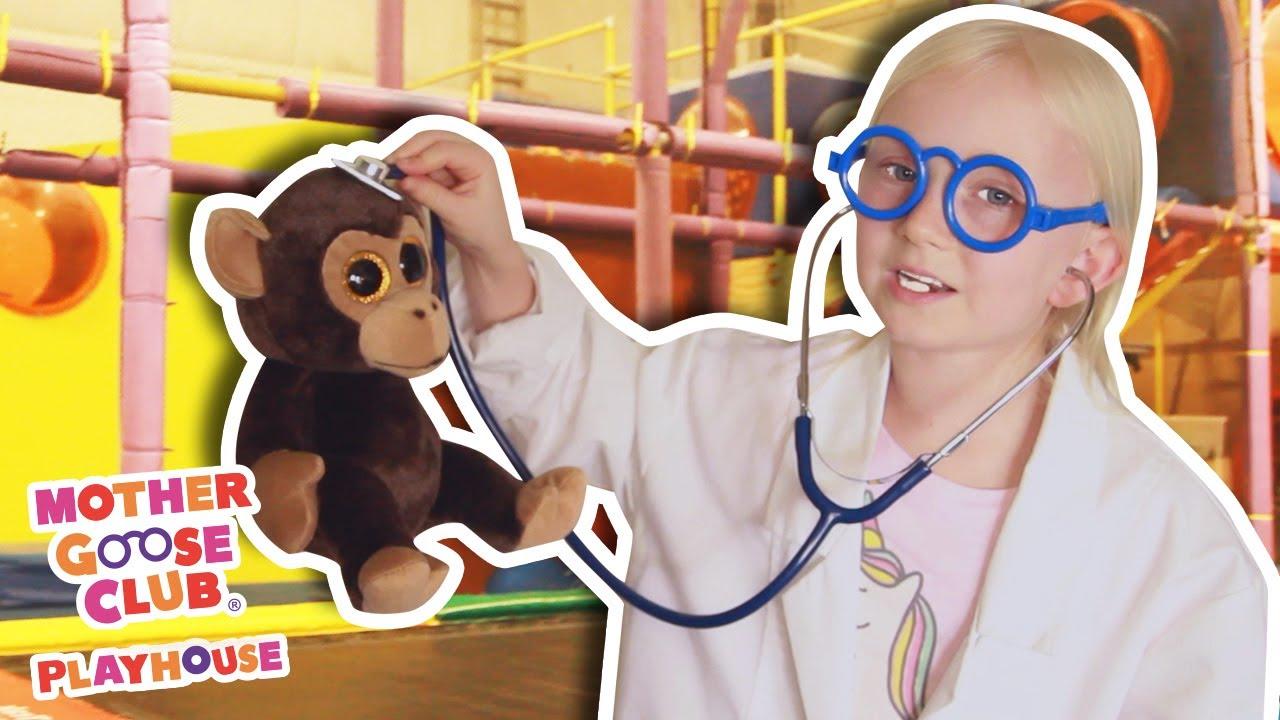 Five Little Monkeys (Music Video) | Mother Goose Club Nursery Playhouse Songs & Rhymes