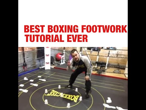 The BEST boxing footwork tutorial EVER