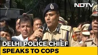 Delhi Police vs Lawyers: Resume Work, Delhi Top Cop Urges Policemen Protesting Attack On Colleague