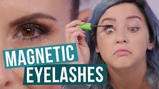Do Magnetic Eyelashes WORK!? (Beauty Break)