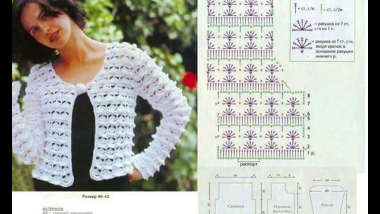 Tapado para mujer modernos diseños tejidos a crochet - YouTube