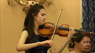 I. Stravinsky - Suite Italienne II mov (Serenata)- Emma Arizza and Ana Bursac
