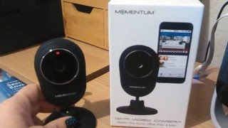 WI-FI VIDEO SURVEILLANCE CAMERA BY MOMENTUM REVIEW