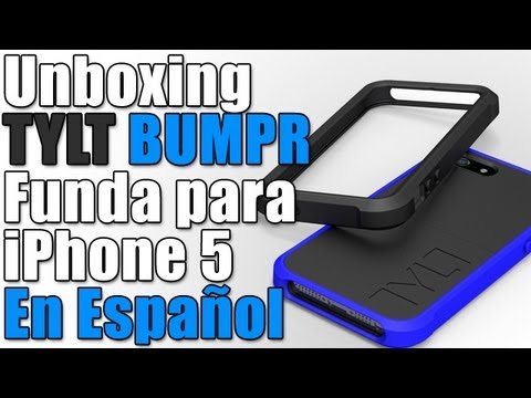 TYLT Bumper | Funda con bumpers intercambiables para iPhone 5 En Español