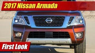 2017 Nissan Armada: First Look