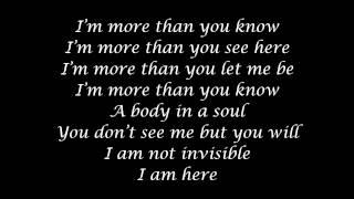 U2-Invisible Lyrics