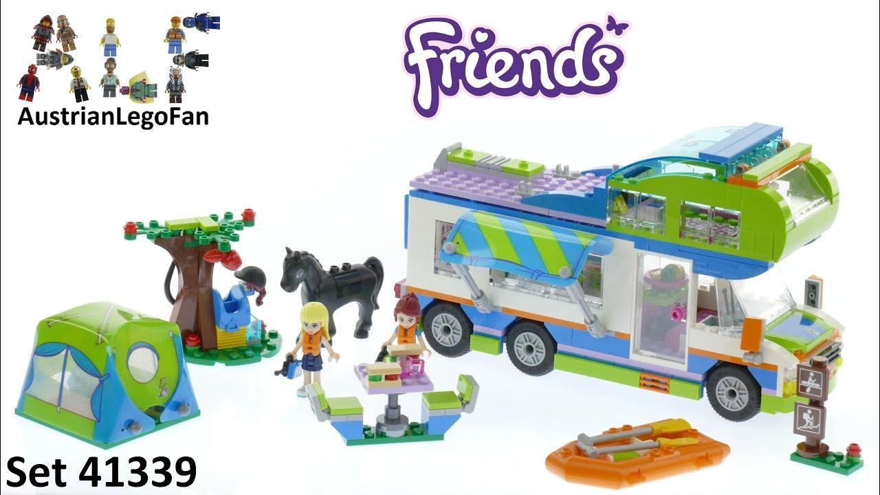 Lego Friends 41339 Mias Camper Van Lego Speed Build Review Youtube
