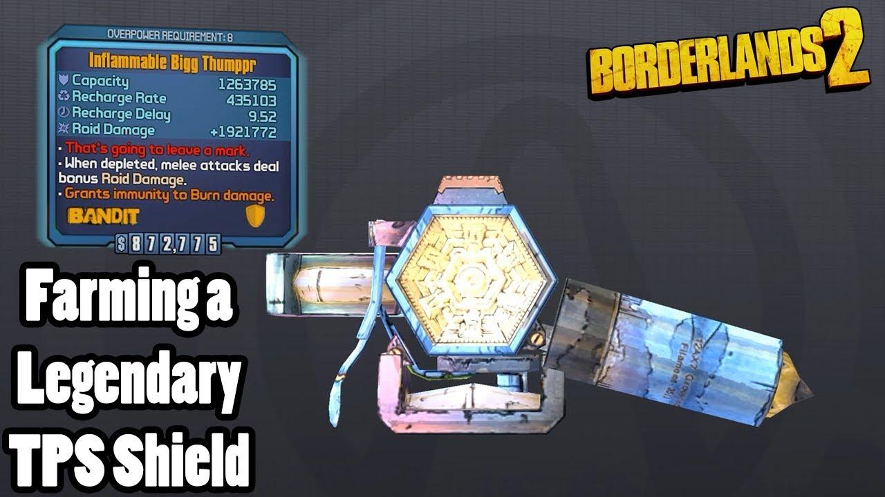 Borderlands 2: Farming for a legendary Bigg Thumppr!