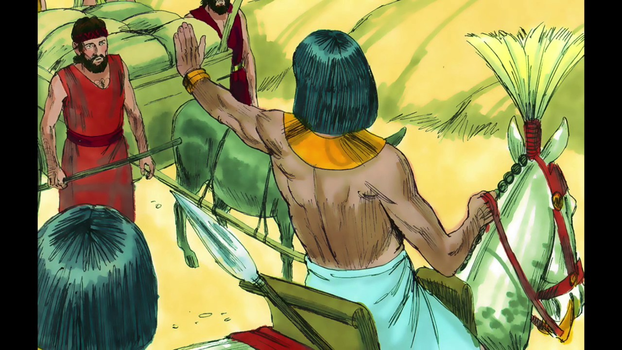 Children\'s Daily Bible Story -Joseph Puts Money in His Brothers ...