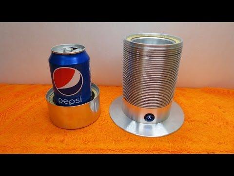 Маленький портативный холодильник - для баночек
