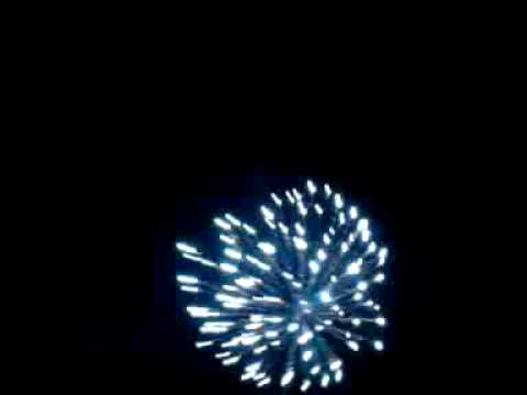 mortar firework recorded on samsung moment phone