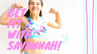 Get Fit with Savannah | Volleyball Workout Part 2