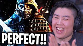 RIVELATO IL PRIMO sguardo ufficiale ai personaggi del film di Mortal Kombat !! [REAZIONE]