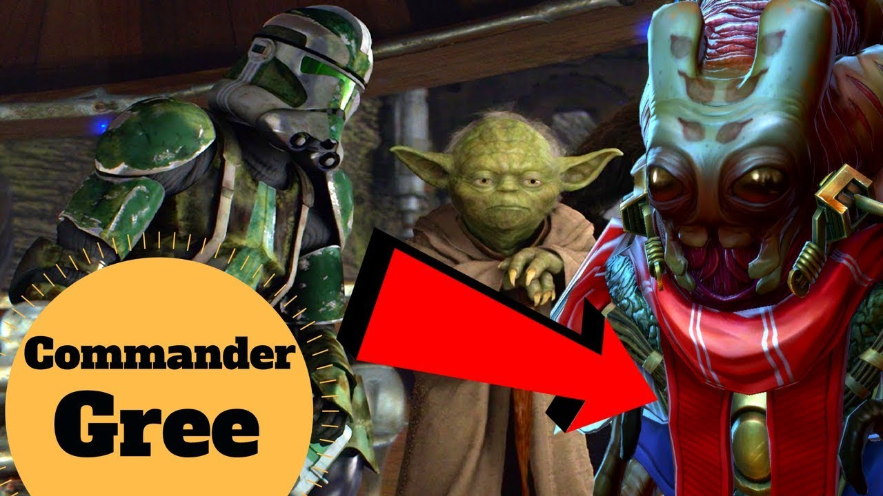 Commander and Alien Species Expert - The Life Story of CC-1004 Commander  Gree - Star Wars Profiles