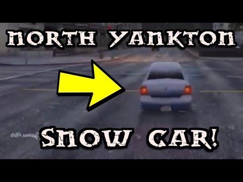 How To Get The SNOW CAR! | Escape NORTH YANKTON Glitch! (GTA5)