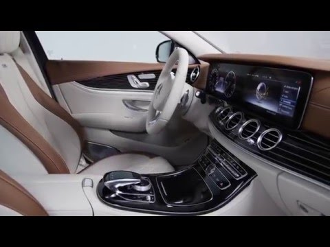 Die e klasse von mercedes benz interieur 2015 youtube for Mercedes classe m interieur
