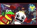 Roblox Epic minigames ESCAPE BLACK HOLE VTubers Let's Play Combo Panda Vs Gus