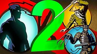 РЫСЬ ОТШЕЛЬНИК ПОБЕЖДЕН 2     игра Shadow Fight 2 бой с тенью видео   от FGTV