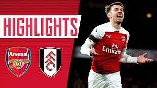 Back to winning ways | Arsenal 4 - 1 Fulham | Goals and highlights