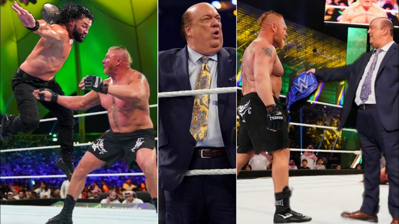 Paul Heyman Betrays Roman Reigns And Helps Brock Lesnar To Win Universal Championship 2021 ?