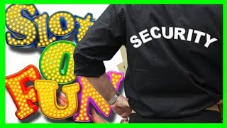Slots of Fun Until Security Guy Gets All Up In My Business! Slot Machine Bonus Fun With SDGuy1234
