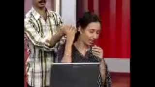 Asianet news readers    pre news reading funny times
