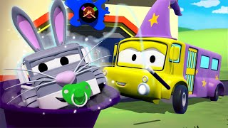 Лили волшебница - Малярная Мастерская Тома в Автомобильный Город 🎨 детский мультфильм