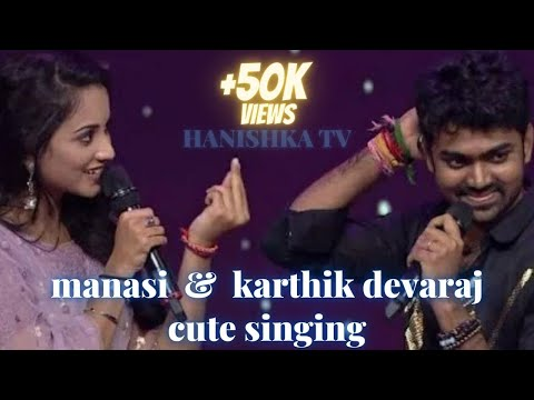 Manasi request Karthik singing#super singer 8