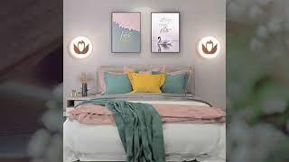 Đèn led gắn tường trang trí phòng ngủ cực kì ấn tượng