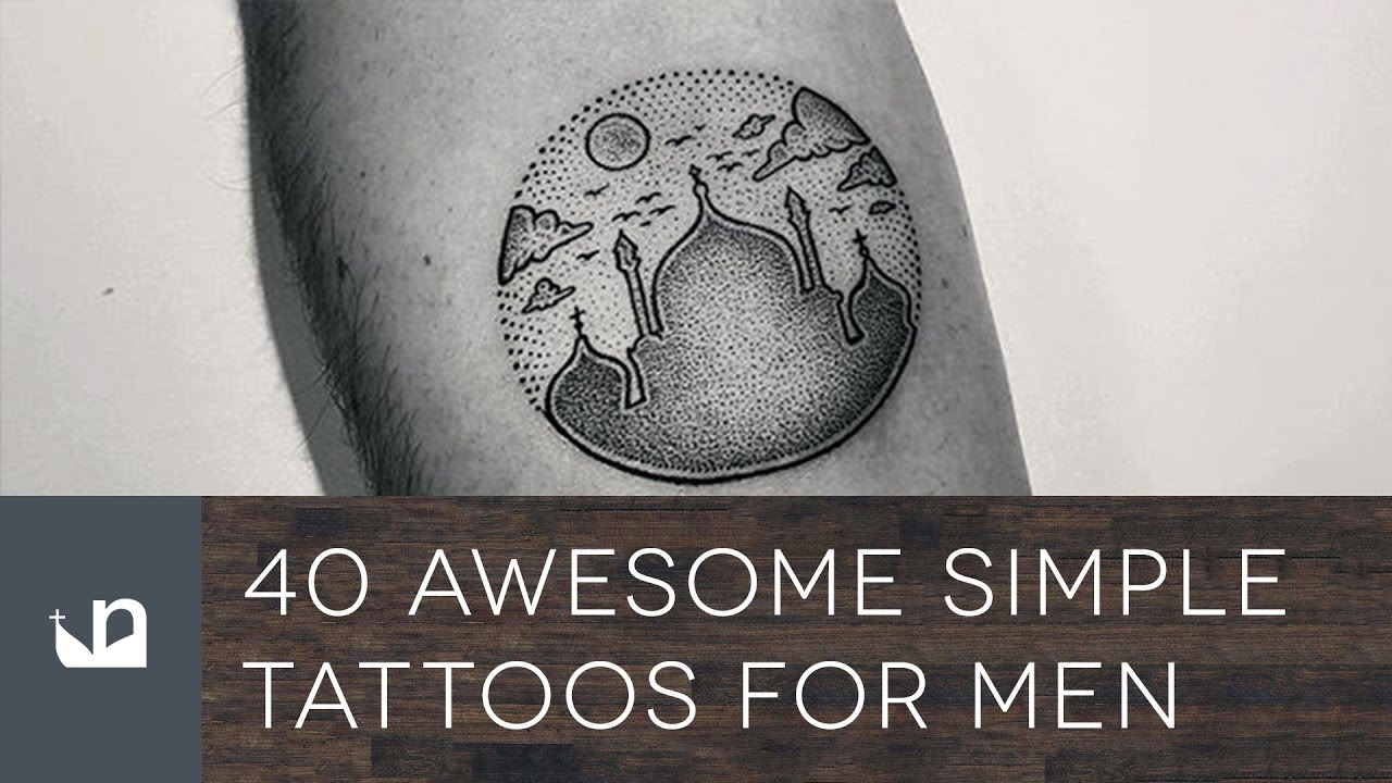 40 Awesome Simple Tattoos For Men – Spectacular Design Ideas