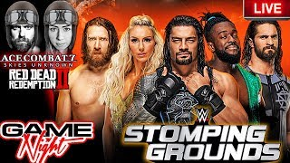 🔴 2019 Wwe Stomping Grounds Rollins Vs Corbin Live Fight Reaction  Game Night