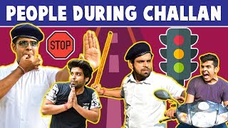 PEOPLE DURING CHALLAN | The Half-Ticket Shows
