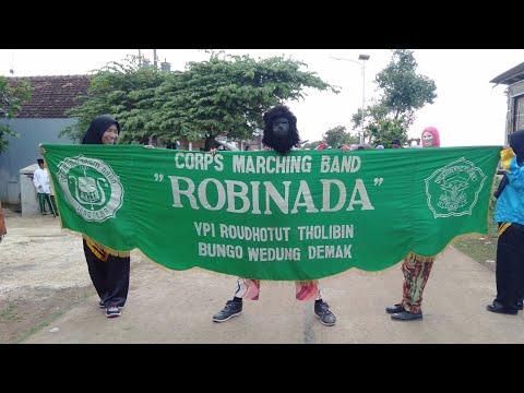 Atraksi Super Keren DRUMBAND ROBINADA Bungo-Wedung-Demak.