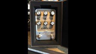 Universal Audio Golden Reverb Acoustic Demo