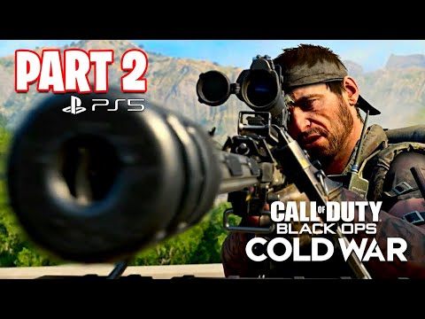 Call of Duty: Black Ops Cold War PS5 Campaign Gameplay Walkthrough, Part 2! (All Ending)