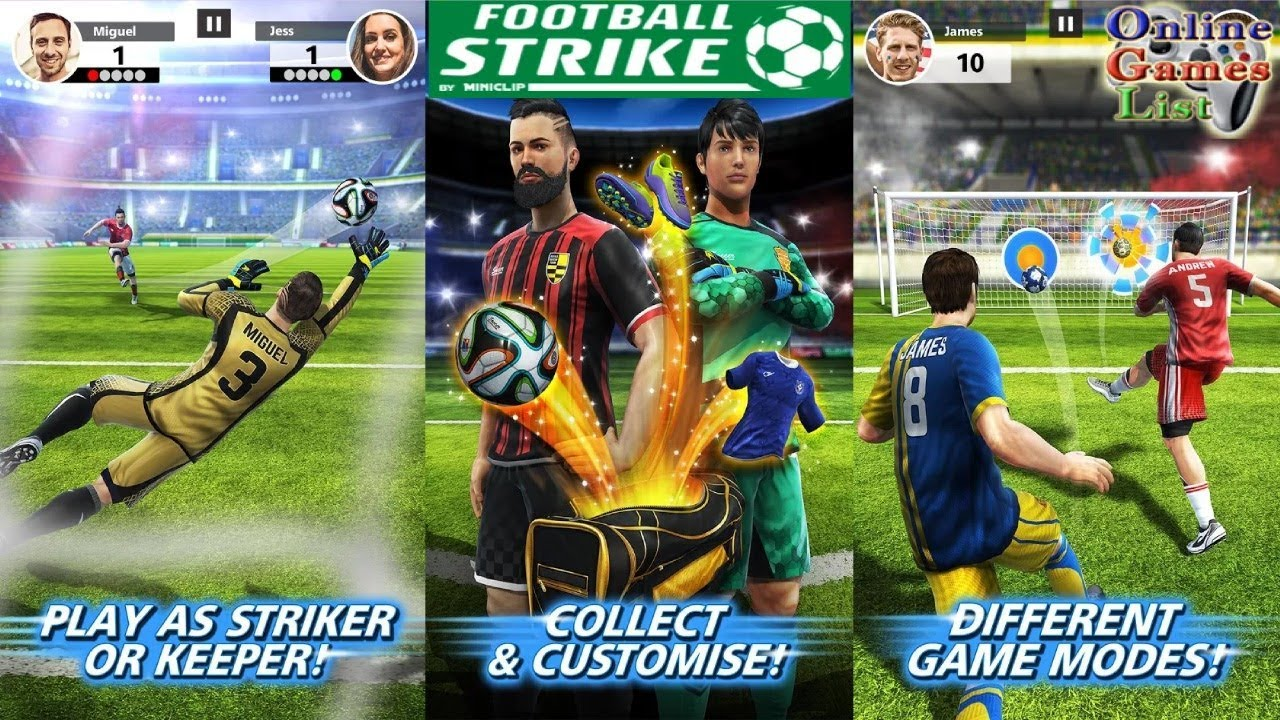 Football Strike Multiplayer Soccer By Miniclip Android Ios
