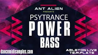 Ableton Live Template - Psytrance Powerbass